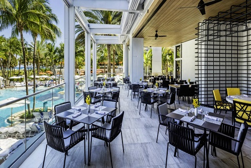 Preston's Market Terrace at Loews Hotel Miami Beach