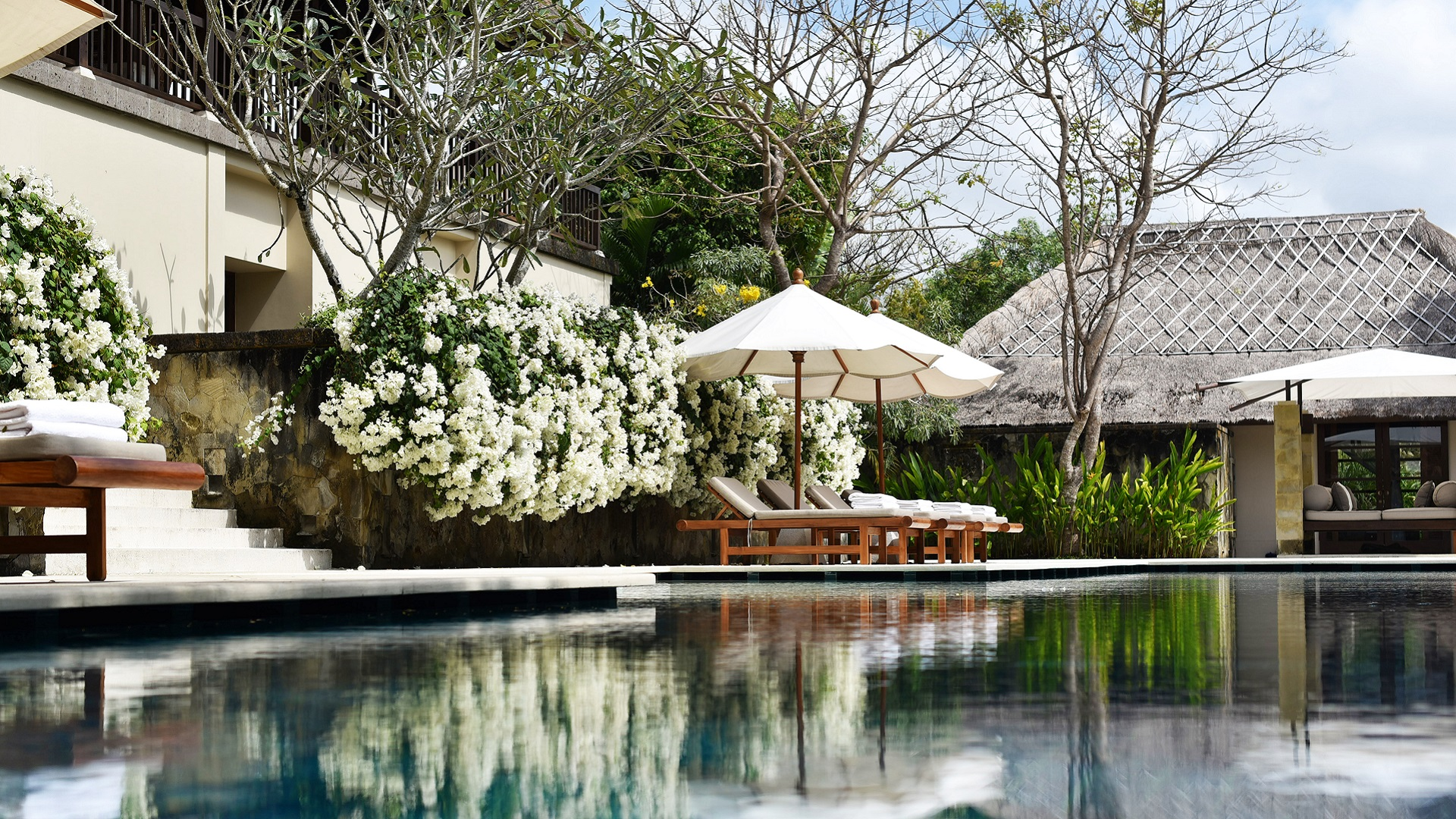 REVIVO Wellness Resort Bali - water