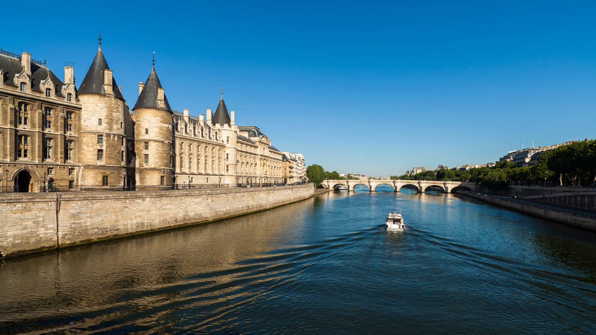 Banks of the Seine River Paris