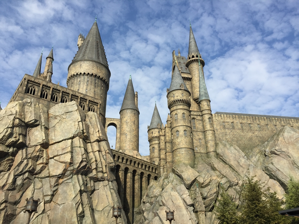 Hogwarts Castle at Universal Studios Hollywood